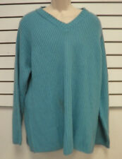 Blair New Womens XLG Blue Sweater