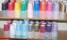 14 X PAPER DISPOSABLE DRINKING CUPS BIRTHDAY WEDDING