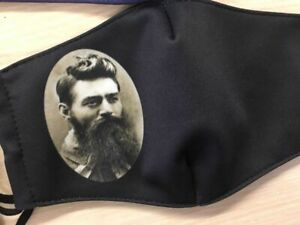 FACE MASK FACE COVER Ned Kelly Design Original Mask Filter Capable Comfortable