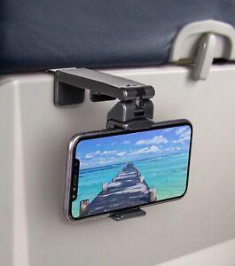 Universal Travel Phone Holder For Airplane, Luggage Handle, Desktop, Selfie.