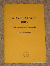A Year At War 1805 - The Armies of Austria