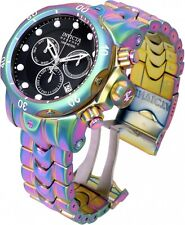 19764 Invicta Reserve Venom IRIDESCENT 52mm Swiss Quartz Chrono Bracelet Watch