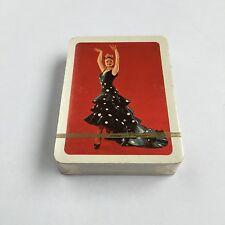 Vintage Playing Cards Spanish Dancer Naipes Comas Spain SEALED Unused Deck