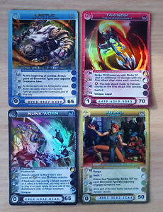 Chaotic Cards Lot Of 4 Promos Creatures All Max Energy