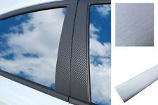Auto Pellicola Wrap Set in Alluminio Spazzolato Argento 6x Premium a B C Colonna