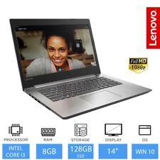 """Lenovo IdeaPad 320 14"""" Full HD Intel Core i3 Laptop, 8gb RAM, 128gb SSD, Win 10"""