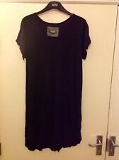 M&S Collection Cap Sleeve Long Shirt Size: 12
