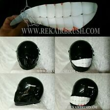 SMILEY DECAL FOR MOTORCYCLE HELMET
