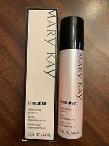 Mary Kay TimeWise REPLENISHING SERUM + C Full Size NIB