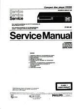 Service Manual-Anleitung in Dutch für Philips CD 350