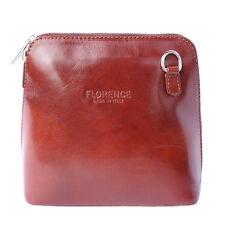 Borsa a Tracolla Cuoio Pelle Leather Crossbody bag Italian Made In Italy 201 br