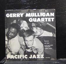 "Gerry Mulligan Quartet - Soft Shoe EP VG+ 7"" Vinyl 45 USA 1952Pacific Jazz EP4-1"