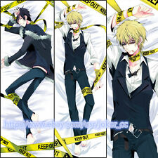Cool DRRR Izaya & Shizuo BL Anime DuRaRaRa Dakimakura Hug Body Pillow Case Cover