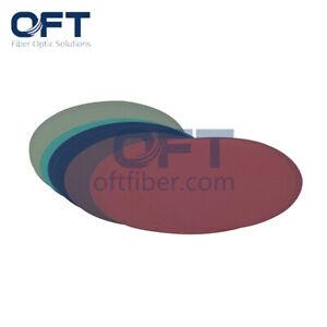 "OFT 15um Diamond Polishing Film 5""Discs Lapping Film Fiber Polishing 20 sheets"