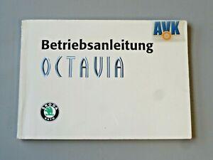 Betriebsanleitung Bedienungsanleitung 1998 Skoda Octavia 1U 1U2 1U5