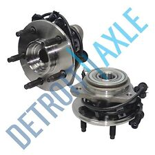 Set (2) New Front Wheel Hub & Bearing Assembly for Ford Ranger Mazda 4WD w/ABS