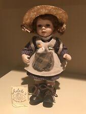 "Mint condition, Adele Puppenhaus porcelain doll ""Vroni"" #378/ 1000"