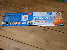 DANIEL PREVOST - LE BEST OF !!PLAN MEDIA / PRESS KIT !!!!!!!!!!
