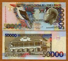 New listing St Thomas & Prince, (50,000) 50000 Dobras, 1996 P-68a, Unc
