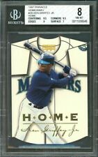 1997 pinnacle home/away #2b KEN GRIFFEY JR seattle mariners BGS 8 (9.5 9.5 9 7)