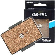 Velbon Quick Release Plate QB-6RL for CX-686 C-600 DC70 VCT-870RM 880 Head PH368