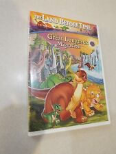 The Land Before Time The Great Longneck Migration DVD  EUC