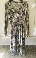 Pretty Ladies Seasalt Tallow floral long sleeved Dress Tunic  UK 14