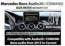 Mercedes Benz 2013+ virtual AUX activation Plug and Play Installation Kit