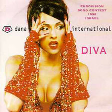 ☆ CD SINGLE EUROVISION 1998 Israel Dana International ☆ 1st sleeve