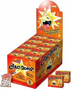 Clac Doigt Le Tigre - plusieurs variations de 1 à 50 boites de 50 Claque Doigts