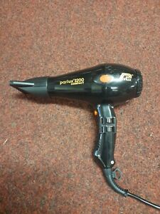 Parlux 3200 Hairdryer Black Fully Functioning