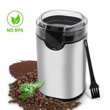 Electric Coffee Stainless Steel Blades Grinder Bean 150W Spices Herbs Nuts Grain