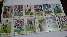 Lote 32 cromo PACOSA 1977/78  NUNCA PEGADOS