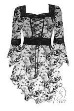 RENAISSANCE Gothic Victorian WINTERS TALE Corset Top Size 1X,  12-14