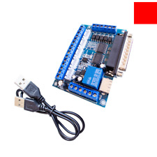 CNC 5 Axis Interface Breakout Board For Stepper Motor Driver CNC Mill MACH3 N4