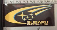 Subaru Works Rally Team STI Impreza Car Turbo Racing Decal Full Colour Sticker