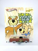 Hot Wheels Hanna Barbera YOGI BEAR '64 GMC Panel Real Riders BROWN NEW 1/64