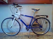 """Bicicletta bici da passeggio uomo Trekking misura 28"""""""
