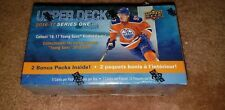 2016-17 UPPER DECK HOCKEY CARD BOX SERIES 1 POSSIBLE ROOKIE-YOUNG GUNS-INSERTS $