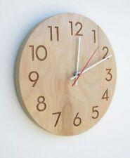 Modern Wood Clock