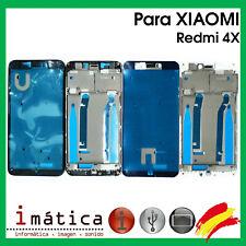 MARCO INTERMEDIO PARA XIAOMI REDMI 4X BLANCO NEGRO CHASIS FRAME PANTALLA LCD