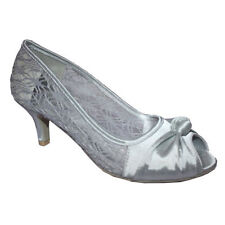 Court Shoes Special Occasion Floral Heels for Women