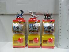 TOMY Pokemon Mini Vending Machine Gashapon set of 3 pcs