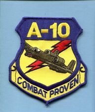 REPUBLIC A-10 THUNDERBOLT II COMBAT PROVEN WARTHOG USAF Squadron Jacket Patch