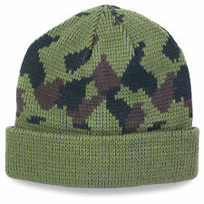 Commando Military Army Hiking Acrylic Winter Warm Beanie Hat Watch Cap Camo NEW