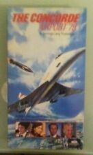sybil danning THE CONCORDE AIRPORT '79 79 sylvia kristel  VHS VIDEOTAPE mca