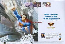 Superman Returns The Videogame 2006 Magazine 2 Page Advert #4883