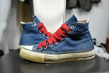 vintage Converse 6 made in Usa Chuck Taylor sneakers 70's 80's blue unisex