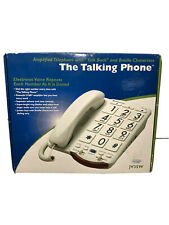 New Open Box Clarity Ameriphone The Talking Phone Amplified Telephone Jv35W