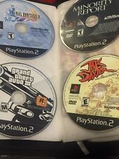 4 PS2 Games Disc Only Final Fantasy X Minority Report GTA 3 Jak And Daxter